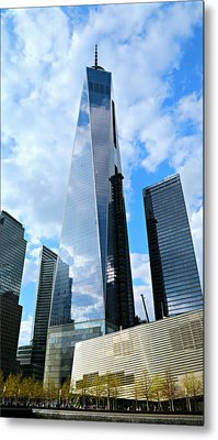 Freedom Tower Metal Print by Stephen Stookey