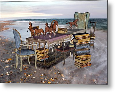 Freedom Within A Book Metal Print by Betsy Knapp