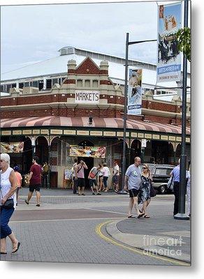 Fremantle Market Place Metal Print by Bobby Mandal