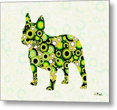 French Bulldog - Animal Art Metal Print by Anastasiya Malakhova