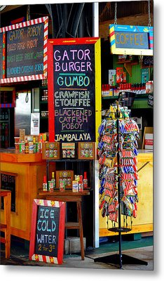 French Market New Orleans Metal Print by Christine Till