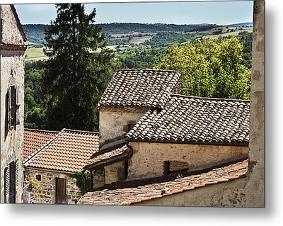 French Roofs Metal Print by Georgia Fowler