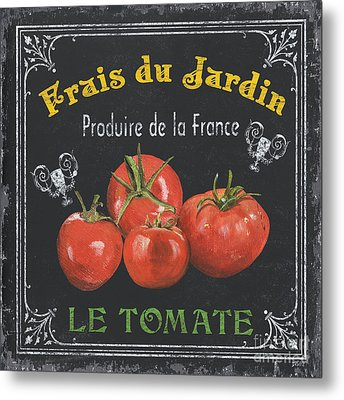 French Vegetables 1 Metal Print by Debbie DeWitt
