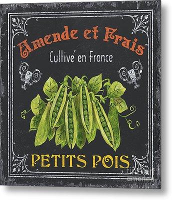 French Vegetables 2 Metal Print by Debbie DeWitt