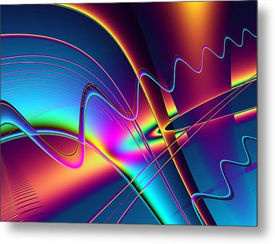 Frequency Metal Print by Wendy J St Christopher