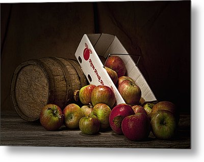 Fresh From The Orchard I Metal Print by Tom Mc Nemar