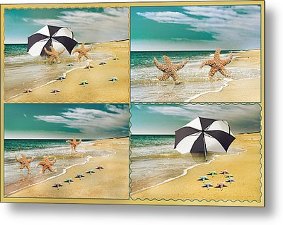 Fresh From The Sea Metal Print by Betsy C Knapp