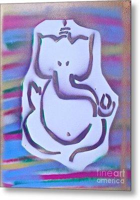 Fresh Ganesh 1 Metal Print by Tony B Conscious
