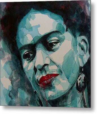 Frida Kahlo Metal Print by Paul Lovering