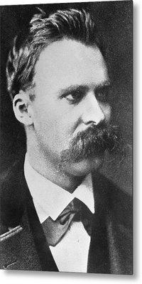 Friedrich Wilhelm Nietzsche Metal Print by French Photographer