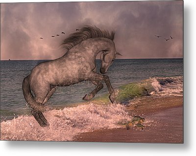 Friends Metal Print by Betsy Knapp