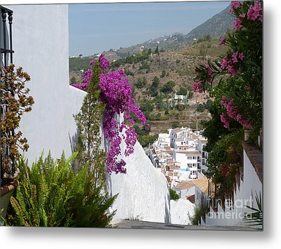 Frigiliana Vista Metal Print by Phil Banks