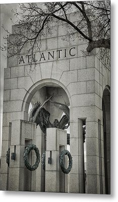 From The Atlantic Metal Print by Joan Carroll