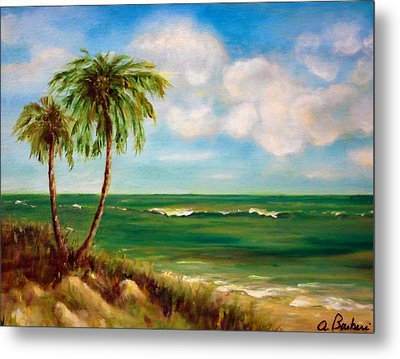 From The Beach Metal Print by Anne Barberi