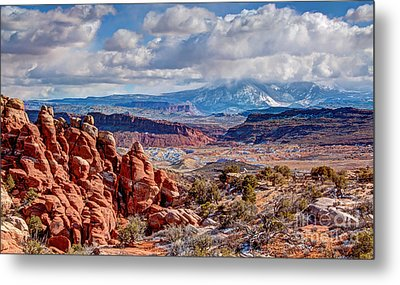 From The Fiery Furnace Metal Print by Bob and Nancy Kendrick