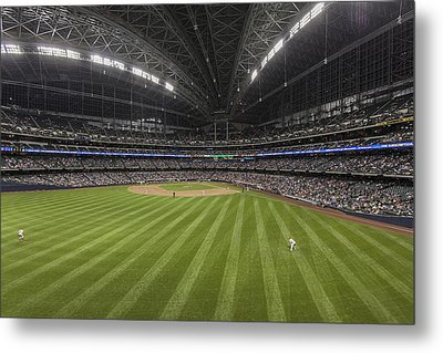 From The Outfield Metal Print by CJ Schmit
