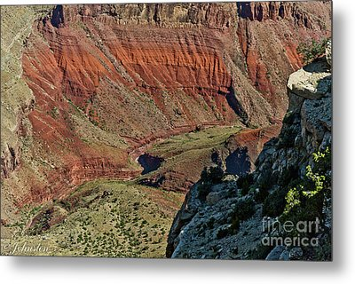 From Yaki Point 5 Grand Canyon Metal Print by Bob and Nadine Johnston