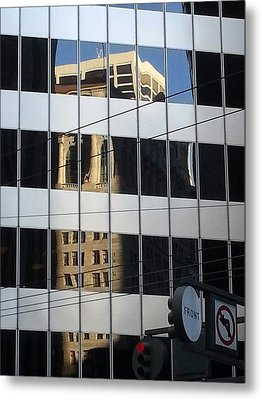Front And Market Metal Print by Danny Lynch