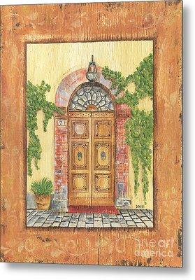 Front Door 2 Metal Print by Debbie DeWitt