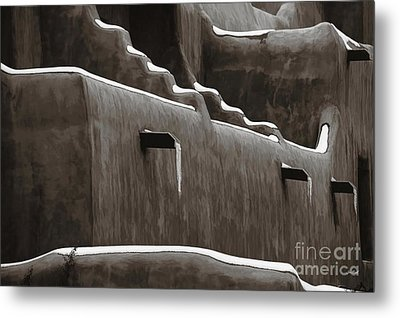 Frosting On The Clay Metal Print by Jon Burch Photography
