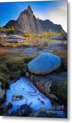 Frozen Replica Metal Print by Inge Johnsson