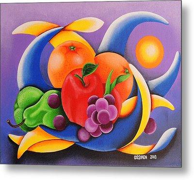 Fruit Metal Print by Oswaldo Cevallos
