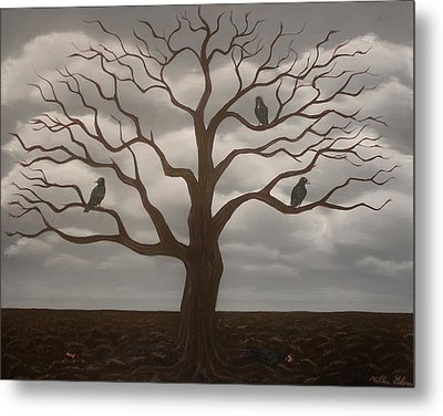 Fruitless Metal Print by Millian Glenn
