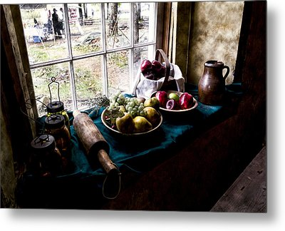 Fruits Of Harvest Metal Print by Peter Chilelli