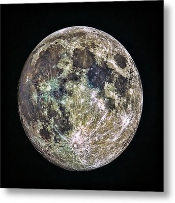 Full Moon Metal Print by Todd Ryburn
