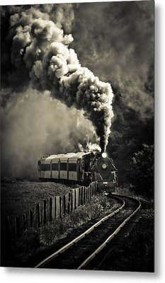 Full Steam Ahead Metal Print by Phil 'motography' Clark