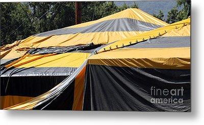 Fumigation Tent Metal Print by Henrik Lehnerer