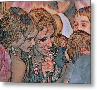 Fun With The Kids Metal Print by Brian Graybill
