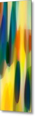 Fury Panoramic Vertical 1 Metal Print by Amy Vangsgard