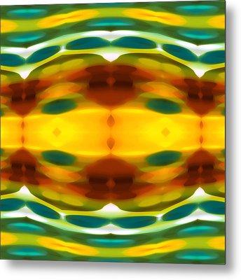 Fury Pattern 5 Metal Print by Amy Vangsgard