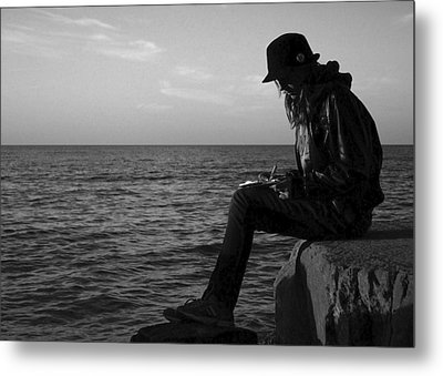 Future Author Metal Print by Frozen in Time Fine Art Photography