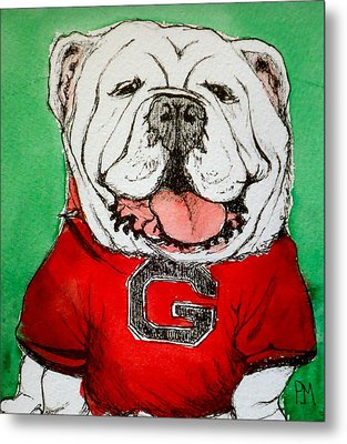 G Dawg Metal Print by Pete Maier