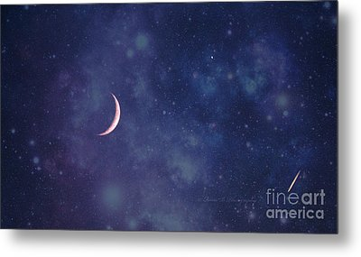 Galactic Show Metal Print by Rima Biswas