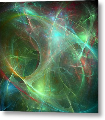 Galaxie Fractale -02 Metal Print by RochVanh