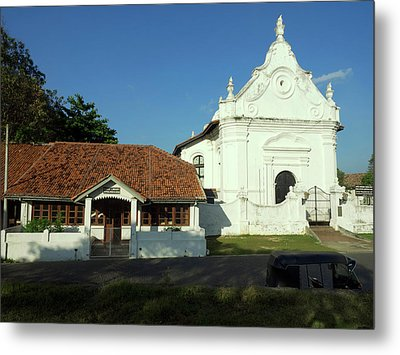 Galle Library 1832 Century Next Metal Print by Panoramic Images