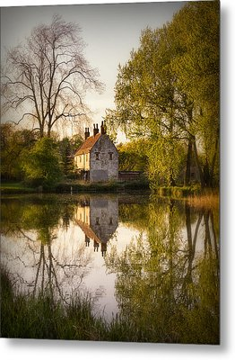 Game Keepers Cottage Cusworth Metal Print by Ian Barber