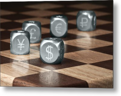 Game Of Chance Metal Print by Tom Mc Nemar