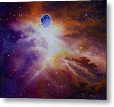 Gamma Nebula Metal Print by James Christopher Hill