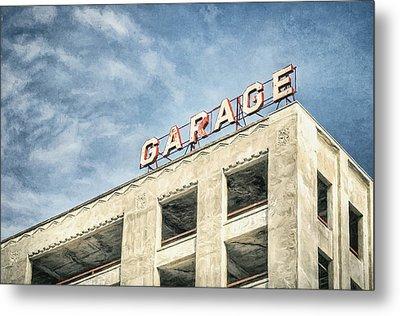 Garage Metal Print by Scott Norris