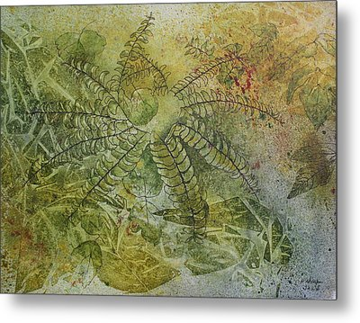 Garden Mist Metal Print by Patsy Sharpe