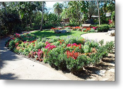 Garden Park Metal Print by Aimee L Maher Photography and Art Visit ALMGallerydotcom