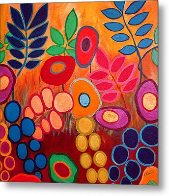 Garden Party Metal Print by Ruth Palmer