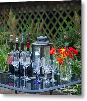Garden Pary Metal Print by Kay Pickens