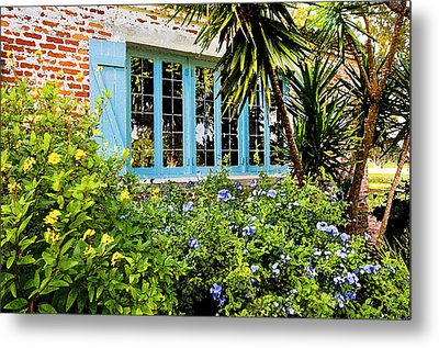 Garden Window Db Metal Print by Rich Franco