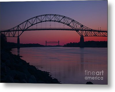 Gateway To Cape Cod Metal Print by Amazing Jules
