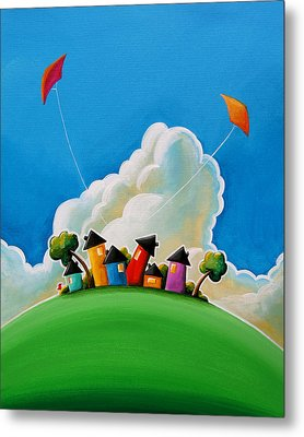 Gather Round Metal Print by Cindy Thornton